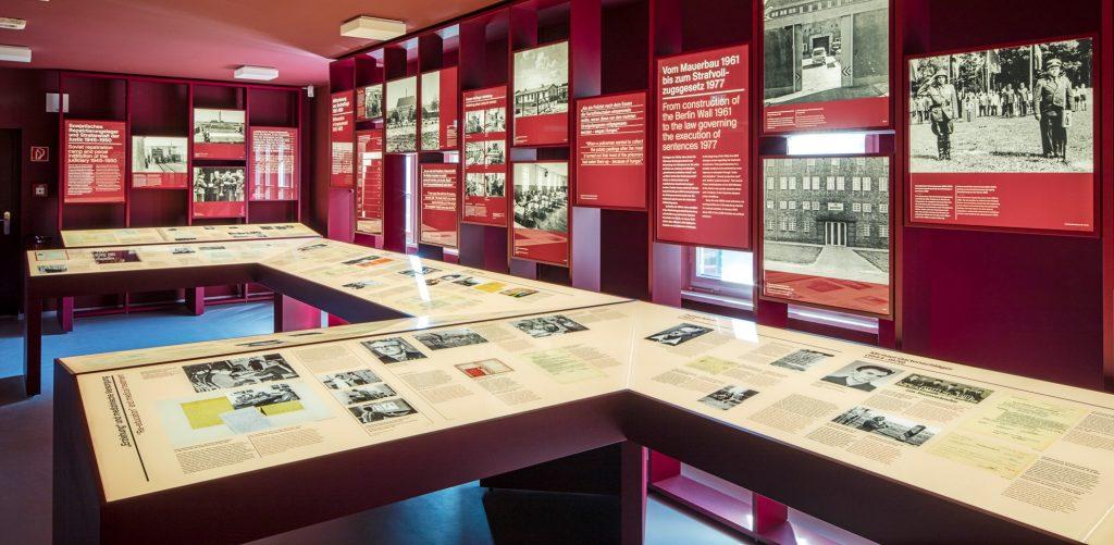 Dauerausstellung in der Gedenkstaette Zuchthaus Brandenburg
